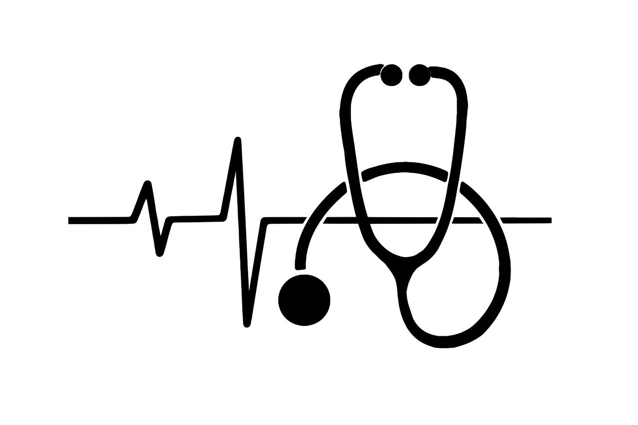 stethoscope, icon, medical